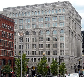 Riggs Bank - Former Riggs Bank building, now the Courtyard by Marriott Washington Convention Center Hotel