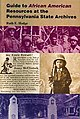"""Cover Ruth E. Hodge's """"Guide to African American Resources at the Pennsylvania State Archives"""" (pub. 2000).jpg"""