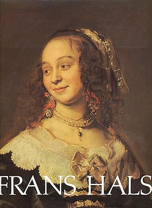 Isabella Coymans - Cover of Seymour Slive catalog of Frans Hals paintings in 1989