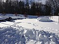 Covered cars in Amherst, Massachusetts in February, 2013.jpg