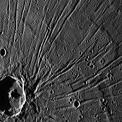 Crater Apollodor and Pantheon Fossae