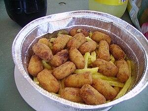 Croquette - Croquetas fritas