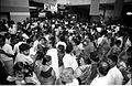 Crowd - Dinosaurs Alive Exhibition - Science City - Calcutta 1995-June-July 597.JPG