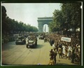 Crowds of French patriots line the Champs Elysees1a55001u.tif