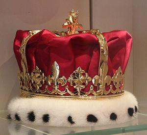 Lord Lyon King of Arms - Lord Lyon King of Arms' crown