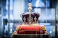 Crown of the Queen Mother replica at Royal Coster Diamonds exhibition.jpg