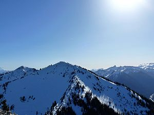 Crystal Mountain in March 2015