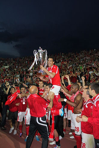 PFC CSKA Sofia - CSKA with the Bulgarian Cup in 2011 Bulgarian Cup Final