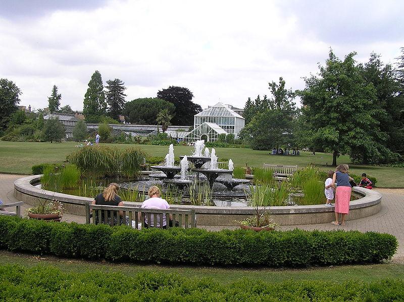 Jardim Botânico da Universidade de Cambridge, Reino Unido