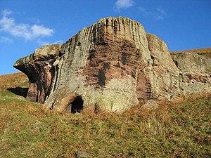 St Cuthbert's Cave - Cuddy's Cave, Doddington Moor, near Wooler