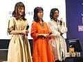 Cuisine Dimension voice actresses standing on the stage 20190414c.jpg