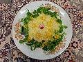 Cuisine of Iran آشپزی ایرانی 10-خوراک میگو.jpg