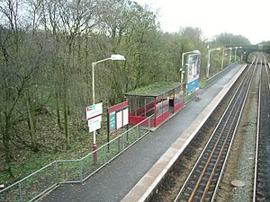 Cumbernauld railway station - Image: Cumbernauld Station 2