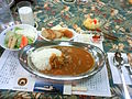 Curry and rice at JMSDF Uraga (MST-463).jpg