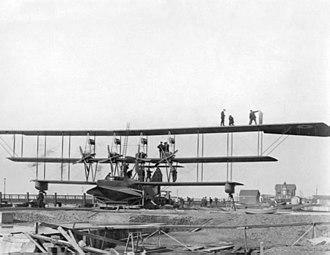 Curtiss Wanamaker Triplane - RNAS Felixstowe, 1916