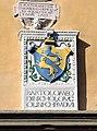 Cutigliano, palazzo dei capitani della montagna, stemmi 05 ugolini 1507.jpg