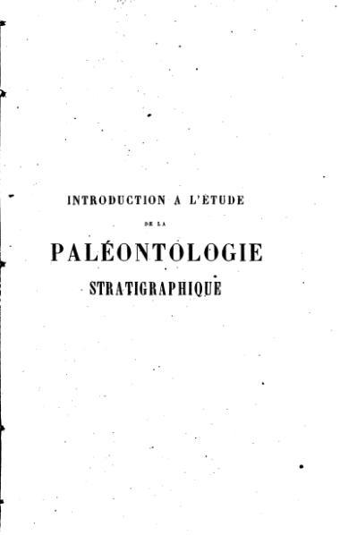 File:D'Archiac - Introduction à l'étude de la paléontologie stratigraphique - Tome 1.djvu