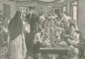 D. Amélia serve sopa às crianças no seu dispensário, Natal 1903.png