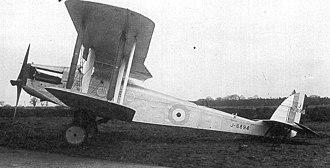 De Havilland DH.27 Derby - Image: DH27