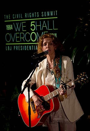 "Patty Griffin - Griffin performs ""Up To the Mountain"" at the Carter Reception Dinner during the Civil Rights Summit at the LBJ Presidential Library in 2014"