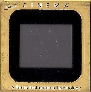 DLP CINEMA. A Texas Instruments Technology - Photo Philippe Binant