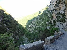 Image illustrative de l'article Route départementale 17 (Alpes-de-Haute-Provence)