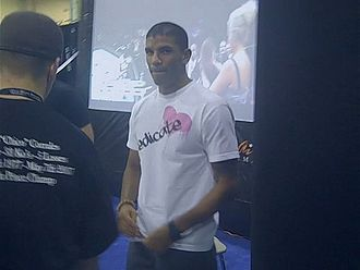 DaMarques Johnson - At UFC 100 Fan Expo in Las Vegas