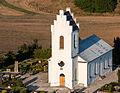 Dagstorps kyrka–flygbild 06 september 2014.jpg