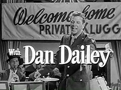 Dan Dailey in When Willie Comes Marching Home trailer.jpg