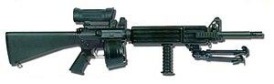 Colt Automatic Rifle - 360 px