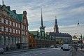 Dansk Erhverv-Børsen and Christiansborg Palace (37641164590).jpg