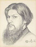 Dante Gabriel Rossetti drawing of Ford Madox Brown 1867.jpg