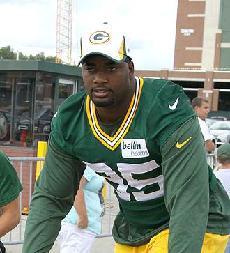 Datone Jones - Jones with the Green Bay Packers