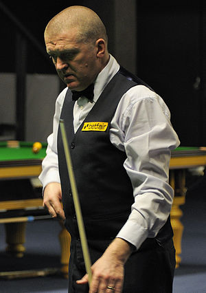 Dave Harold - Dave Harold at 2013 German Masters