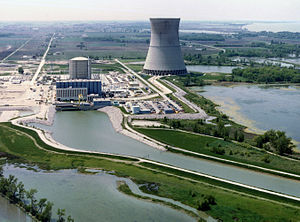 English: Davis-Besse Nuclear Power Station