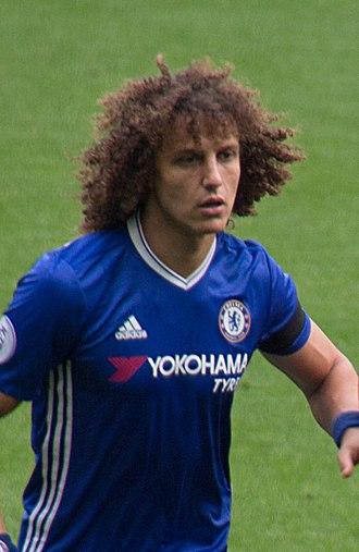 David Luiz - David Luiz with Chelsea in 2016