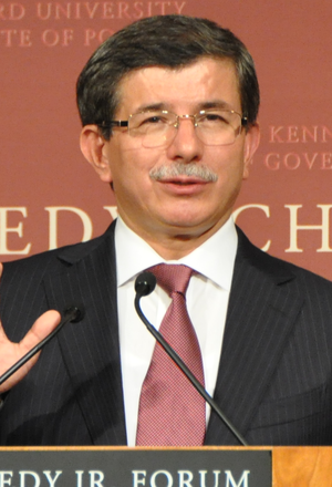 1st Justice and Development Party Extraordinary Congress - Image: Davutoglu Harvard University