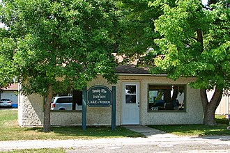 Lake of the Woods, Ontario - Township office in Rainy River