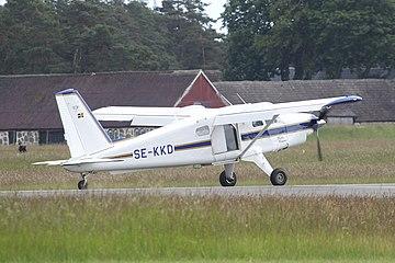 De Havilland Canada DHC-2T Turbo Beaver SE-KKD at Kristianstad Airport.jpg