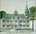 De oude of St. Joris Doelen in sGravenhagen; circa 1720.jpg