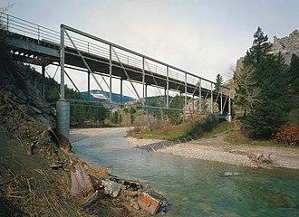 Dearborn River - Image: Dearborn River High Bridge kleiner