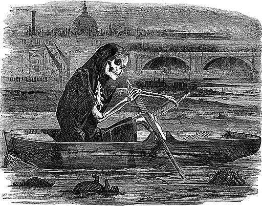 Death as a ferryman
