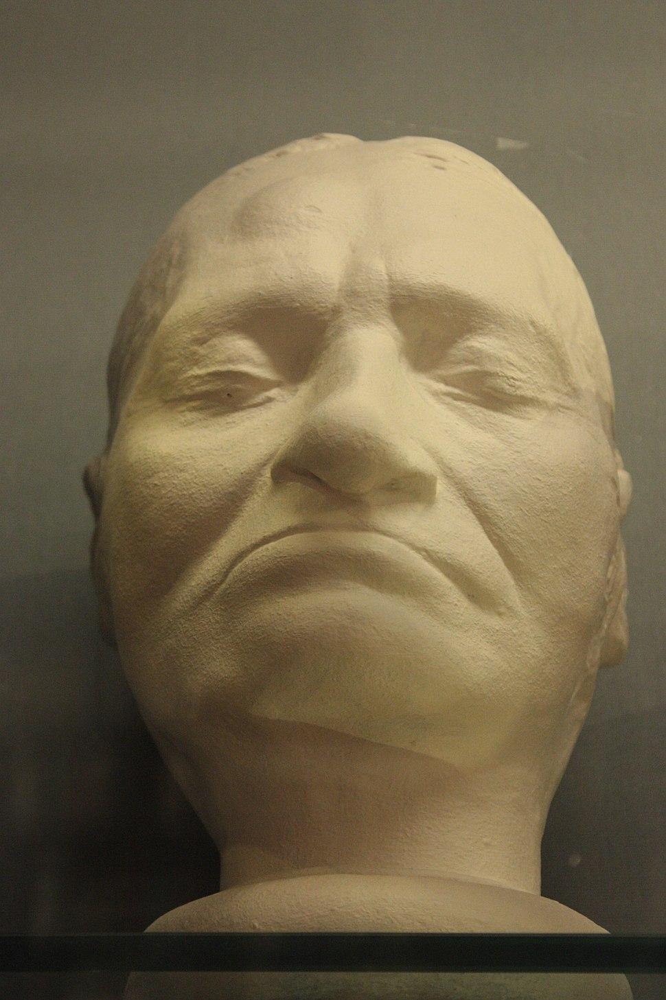 Death mask of Jacques-Louis David, 1825