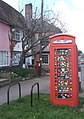 Decorated telephone box, Debenham - geograph.org.uk - 1230257.jpg