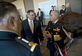 Defense.gov News Photo 120327-D-NI589-271 - Secretary of Defense Leon E. Panetta converses with Mexican Secretary of National Defense Gen. Guillermo Galvan shortly before beginning trilateral.jpg