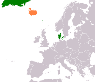 Diplomatic relations between the Kingdom of Denmark and the Republic of Iceland