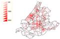 Density Netherlands, South-Holland 2007.png