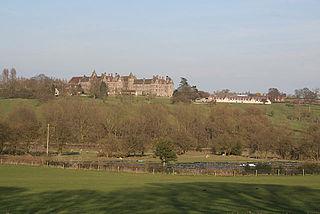 Denstone College school in Staffordshire, UK