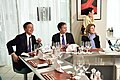 Deputy Secretary Blinken and Ambassador Kennedy Enjoy a Dinner With Japanese Vice Foreign Minister Saiki and South Korean First Vice Foreign Minister Lim in Tokyo (23858743044).jpg