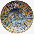 Deruta Dish with a Turkish horseman.jpg